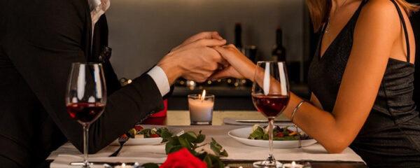 restaurant pour la Saint-Valentin